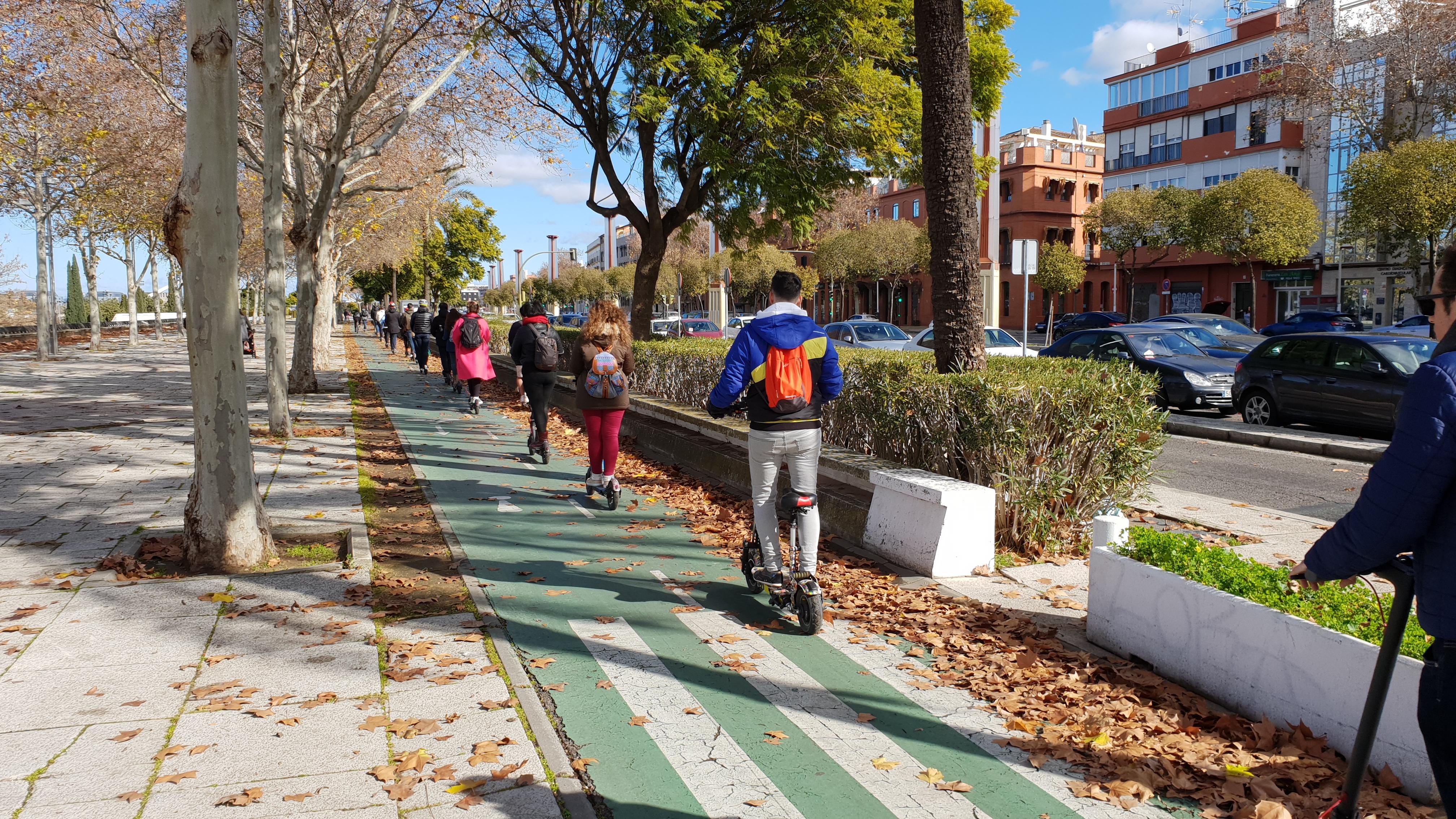 Carril Bici Sevilla Mapa.Mapa Carril Bici Sevilla Ampes